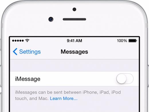 Ngắt kết nối iMessage: nếu chuyển sang sử dụng điện thoại chạy trên nền Android, bạn cần ngắt kết nối với iMessage để những tin nhắn cũ được lưu lại trong SIM và hiện lên ở điện thoại mới. (Ảnh: wonderfulengineering)