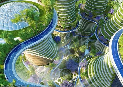 Tương lai chúng ta sẽ ở trong ngôi nhà xanh mướt như thế này?