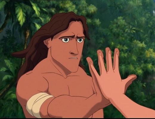 Tại sao sống trong rừng từ nhỏ, nhưng Tarzan lại quá đẹp trai và không có râu?