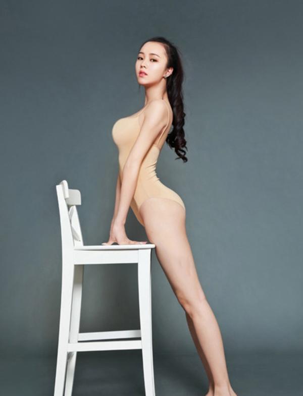 """Phó Giai Mỹ -""""nữ thần Đại học thể thao Bắc Kinh"""". (Ảnh: Internet)"""