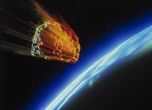 """Thiên thạch vừa """"tấn công"""" Trái đất. (Ảnh: Internet)"""