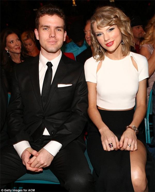 Câu em trai Austin của Taylor Swift.(Ảnh: Daily Mail)
