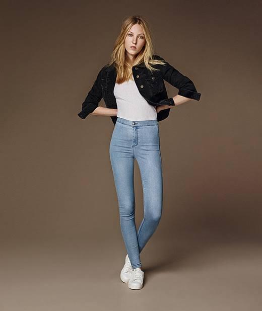 JONI – quần skinny dáng ôm sát với lưng quần siêu cao.