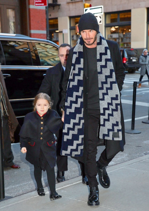 Gu thời trang hoàn hảocủa Harper Beckham theo thời gian