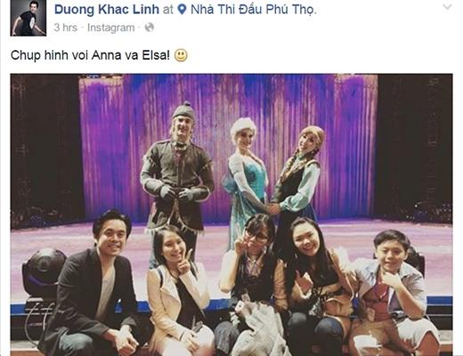 Dương Khắc Linhvà học trò chia sẻ hình chụp cùng các nhân vật của chương trình - Tin sao Viet - Tin tuc sao Viet - Scandal sao Viet - Tin tuc cua Sao - Tin cua Sao