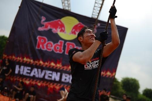 Red Bull Champion Dash bao gồm rất nhiều những thử thách cực hay ho để bạn rèn luyện thể lực, thể hiện bản lĩnh của mình đồng thời trải nghiệm tinh thần đồng đội vững chãi qua các thử thách. (Ảnh: Internet)