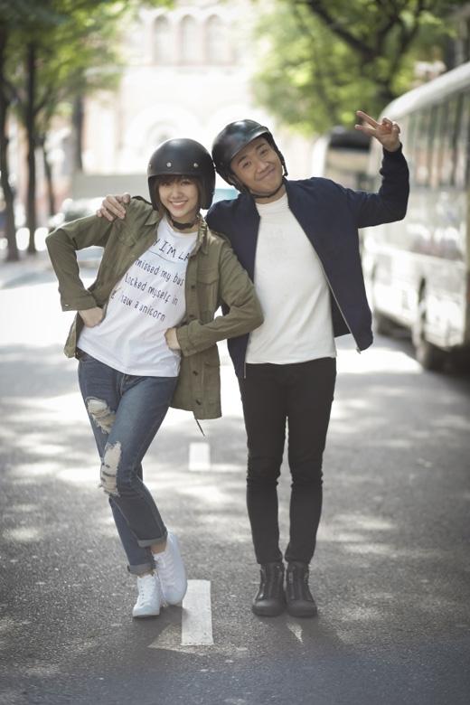 Trấn Thành và Hari Won gặp nhau trên phim trường bộ phim Bệnh viện ma ngay sau khi cô vừa chia tay với Tiến Đạt. (Ảnh: Internet) - Tin sao Viet - Tin tuc sao Viet - Scandal sao Viet - Tin tuc cua Sao - Tin cua Sao