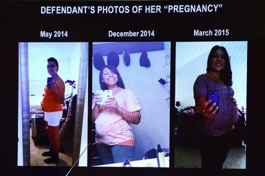 Quá trình mang thai giả của Dynel. (Ảnh: Internet)