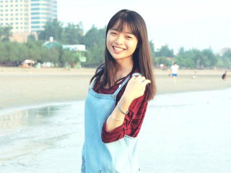 Là bạn học của Khánh Vy, Ngọc Hà cũng xinh không kém. (Ảnh: Internet)