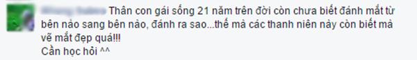 Bình luận của bạn N.S. (Ảnh: Ảnh chụp màn hình từ FBNV)