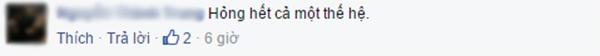 Chỉ trích của N.T.T. (Ảnh: Ảnh chụp màn hình từ FBNV)