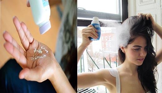 Sử dụng 1 trong 2 thứ này trong hoàn cảnh tạm thời để giúp tóc không bị bết (Ảnh: Internet)