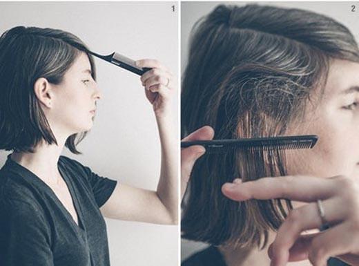 Việc đánh rối cũng tạo nên rất nhiều kiểu tóc cá tính (Ảnh: Internet)