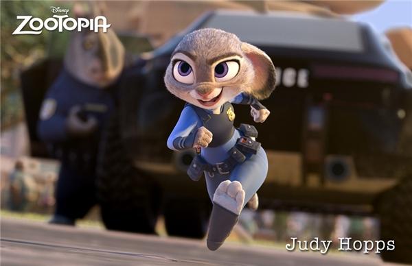 Nhân vật Judy Hopps trong phim.