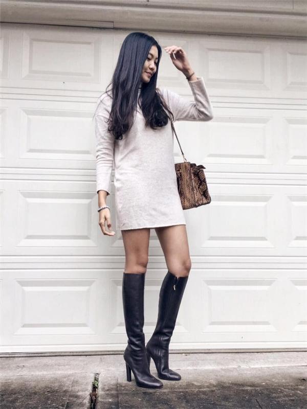 Xinh đẹp và cógu thời trang cực chất, cô nàng được rất nhiều bạn trẻ yêu mến. (Ảnh: Internet)