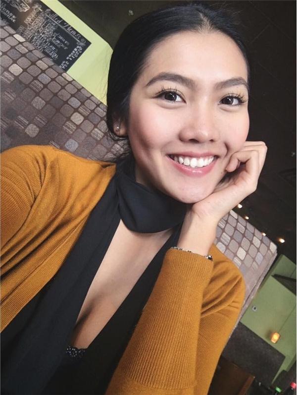 Cô còn xuất sắc đạt danh hiệu Hoa khôi Miss du học sinh Việt 2015. (Ảnh: Internet)