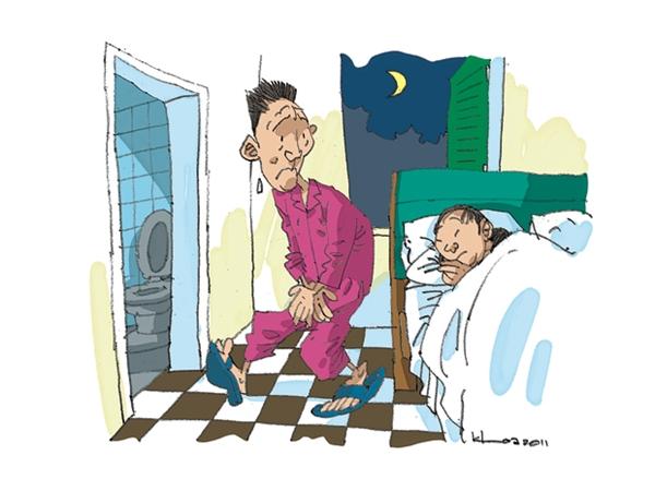 Nhiều người cho rằng tiểu đêm là chuyện bình thường. Ảnh: Internet