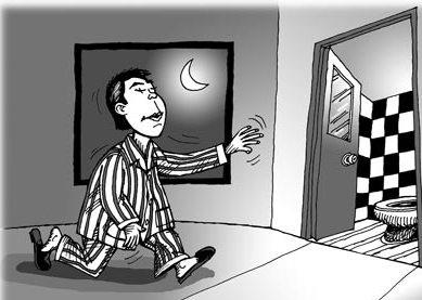 Tuy nhiên theo các bác sĩ tiểu đêm thường xuyên và nhiều là dấu hiệu bất bình thường của cơ thể. Ảnh: Internet