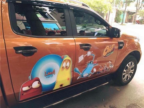 Chết cười với những chiếc xe của fan cuồng hoạt hình