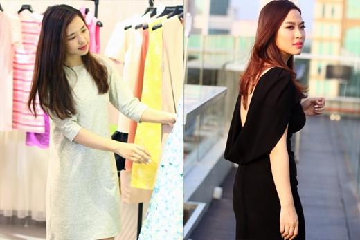 """Kiều Nữ trước và sau khi thay đổi phong cách đã tự tin hợp tác cùng VJ Quốc Bảo """"làm khó"""" Bê Trần."""
