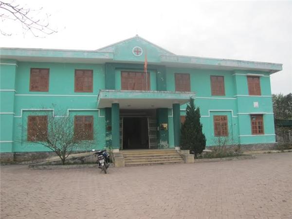 Trạm y tế xã Mỹ Lộc (huyện Can Lộc, Hà Tĩnh) - nơi xảy ra sự việc đau lòng. Ảnh: Internet