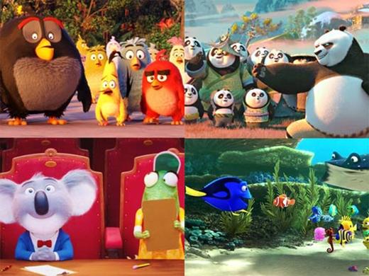 Những bộ phim hoạt hình đáng mong đợi nhất 2016.