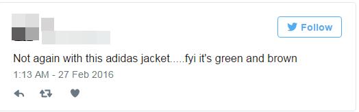 """Đội xanh dương - trắng và đội xanh lá - nâu """"bất phân thắng bại"""".(Ảnh: Chụp Twitter)"""