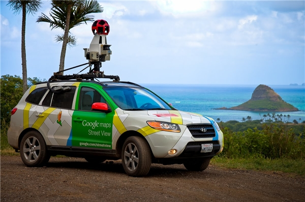 Một chiếc xe Google Street View. (Ảnh: Internet)