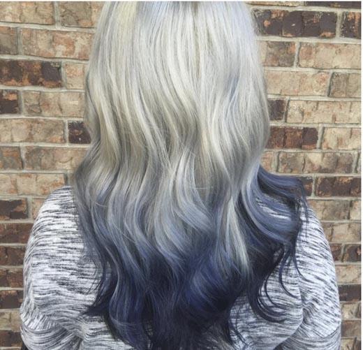 Hoặc bạn có thể ombre tóc mình theo phong cách này.(Ảnh: Internet)