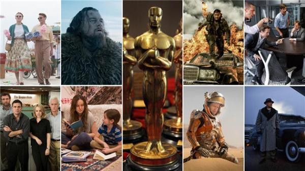 Những đề cử trong giải Oscar. (Ảnh: Internet)
