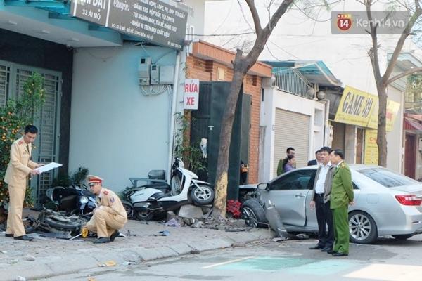 Hiện trường vụ tai nạn nghiêm trọng khiến 3 người tử vong.