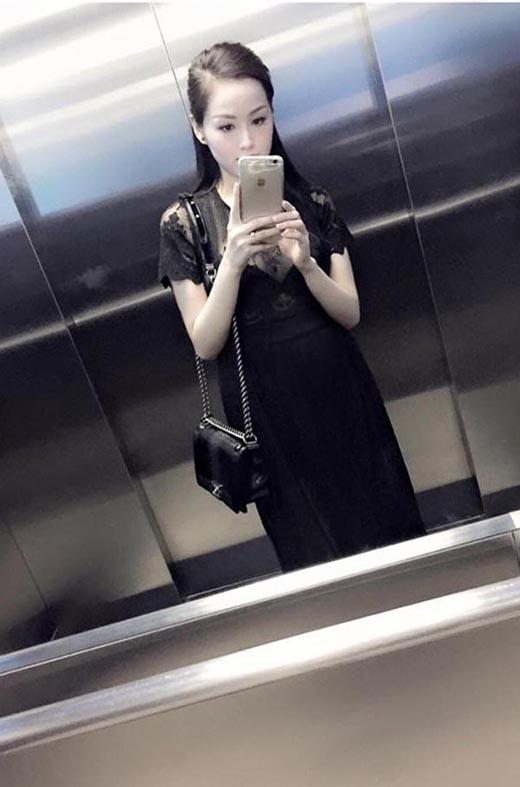Trong thời gian mang thai, Tâm Tít càng ít xuất hiện trước công chúng. Thế nhưng mỗi khi thấy hình ảnh bầu bí của cô, không ít người phải ghen tịvì cô không mấy tăng cân. (Ảnh: Internet) - Tin sao Viet - Tin tuc sao Viet - Scandal sao Viet - Tin tuc cua Sao - Tin cua Sao