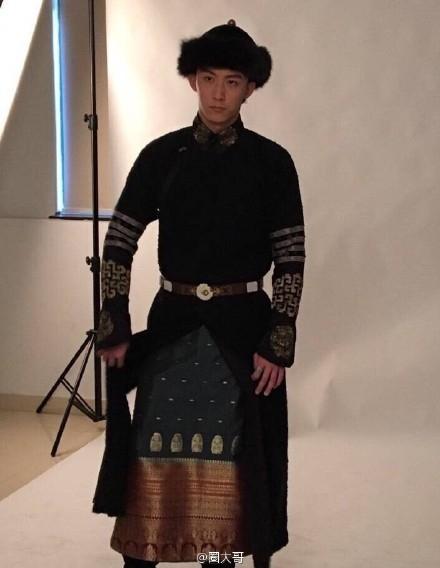 Tạo hình của Hoàng Cảnh Du trong Bán Yêu Khuynh Thành.