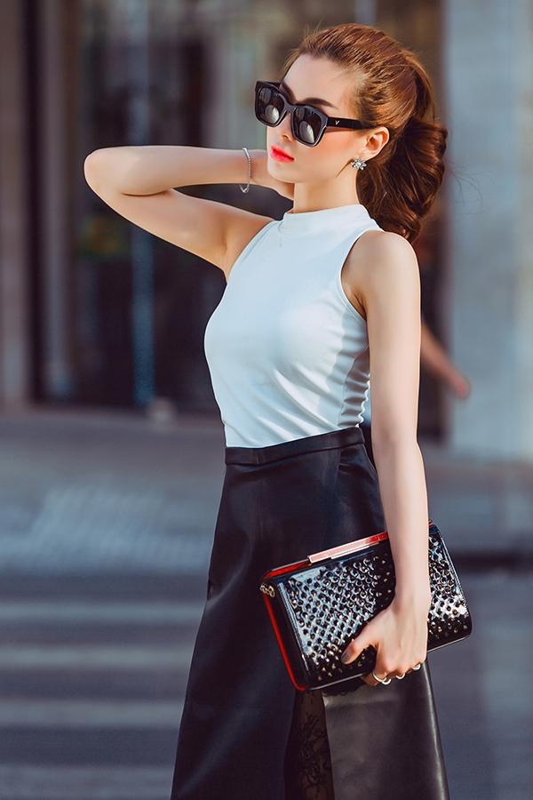 Nàng á hậu có gu street style chuẩn nhất đây rồi!