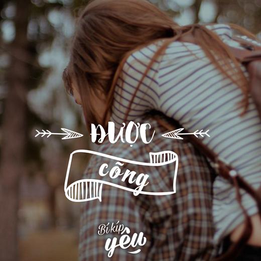Mỗi khi được nửa kiacõng trên lưng, con gái sẽngả đầu tựa vào bờvai vững chãi của người ấy, vòng hai tay qua ôm lấy cổ. Hơi thở rất gần, nóng ấm…Đó có lẽlàcảm giác bình yên nhất trên đời.