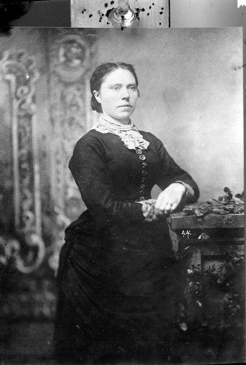 Belle Gunnes sinh ra ở Brynhild Paulsdatter Størseth vào năm 1859, Selbu, Na Uy. (Ảnh: Internet)