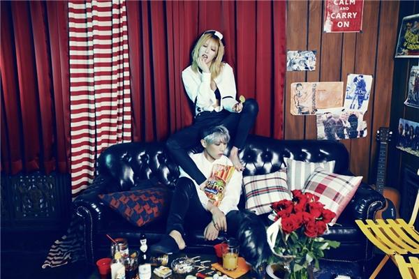 Nóng mặt với bộ ảnh nhá hàng của loạt mĩ nhân Kpop