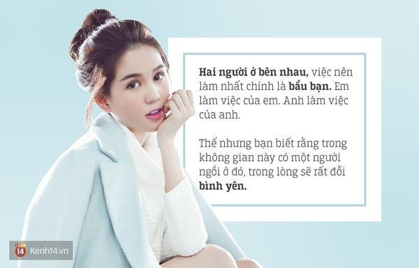 Trong tình yêu, quan trọng hơn là cả hai phải bầu bạn được cùng nhau - Tin sao Viet - Tin tuc sao Viet - Scandal sao Viet - Tin tuc cua Sao - Tin cua Sao