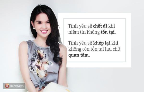 Ngọc Trinh cho rằng trong tình yêu, niềm tin và sự quan tâm chính là điều quan trọng nhất - Tin sao Viet - Tin tuc sao Viet - Scandal sao Viet - Tin tuc cua Sao - Tin cua Sao