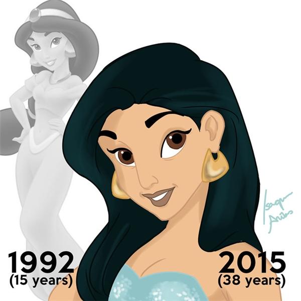 Nàng Jasmine thì mặn mà theo năm tháng, đố ai sánh bằng nhé.