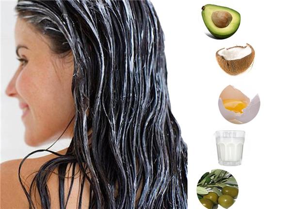 Mặt nạ dưỡng từ nguyên liệu tự nhiên sẽ có lợi cho tóc của bạn. (Ảnh: Internet)