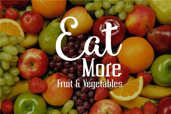 Ăn nhiều trái cây, rau củ quả để cung cấp lượng vitamin cần thiết cho tóc. (Ảnh: Internet)
