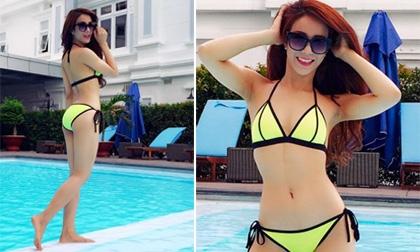 """Diệp Lâm Anh khoe vẻ đẹp """"không cần son phấn"""" khi diện bikini - Tin sao Viet - Tin tuc sao Viet - Scandal sao Viet - Tin tuc cua Sao - Tin cua Sao"""