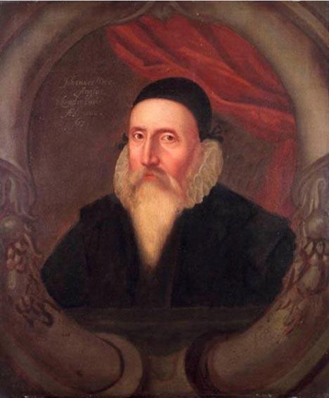 Chân dung John Dee được thực hiện vào thế kỉ 17 được trưng bày ở Bảo tàng hải dương Greenwich. (Ảnh: Public Domain)