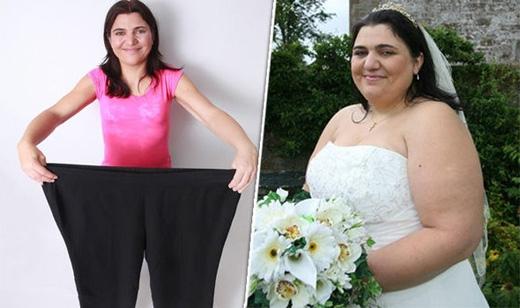 Đã có thời Jen Mellor nặng gần 142kg.(Ảnh: recentworldnews)