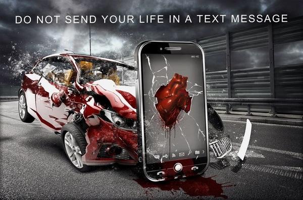 Đừng đánh cược mạng sống của bạn vào 1 dòng tin nhắn.