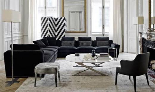 Cận cảnh bộ sofa Solatium của thương hiệu Maxalto – 1 thương hiệu nội thất Ý được nhiều ngôi sao nổi tiếng ưu chuộng.