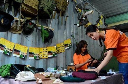 Giới trẻ Sài thành phát sốt với những gian hàng container