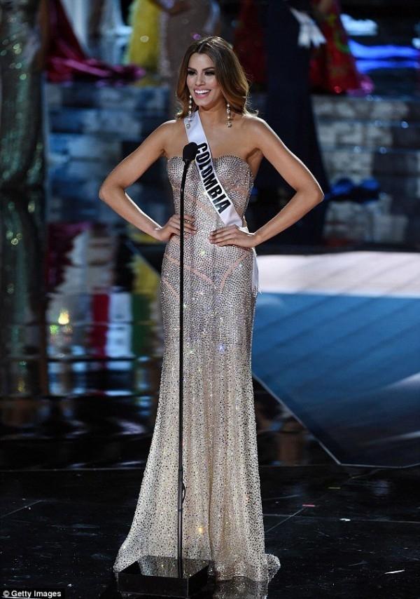 Hoa hậu Hoàn Vũ Colombia có nét đẹp cực kì thu hút. (Ảnh: Internet)