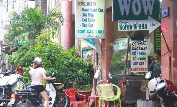 Hẻm 18A Nguyễn Thị Minh Khai từ lâu đã là điểm hẹn hò quen thuộc của các bạn sinh viên Nhân văn.(Ảnh: Internet)
